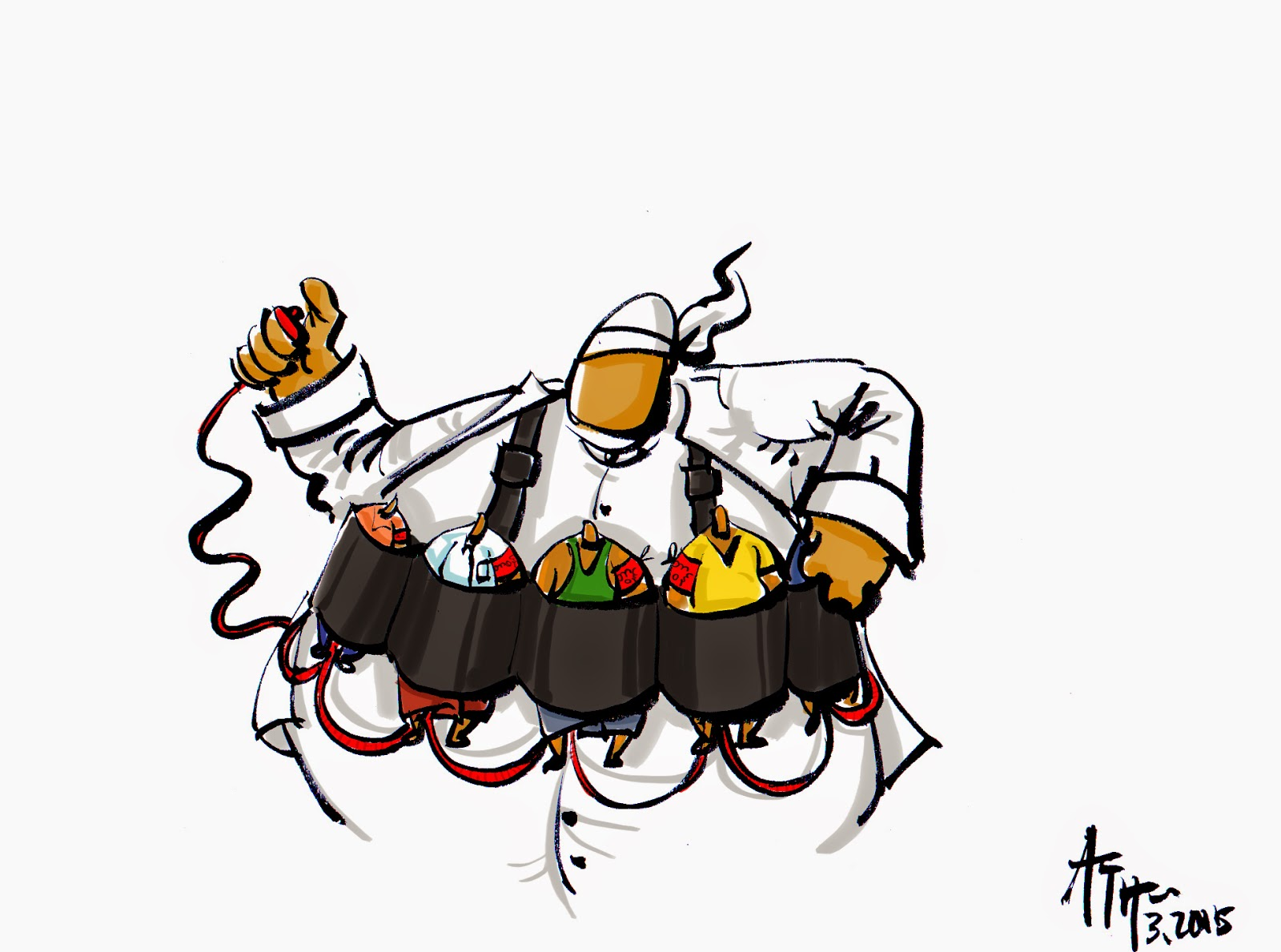 ကာတြန္း ATH – စြမ္းအားရွင္ပါတီ က အစြနး္ေရာက္ စစ္ေသြးၾကြေတြ အလိုုရွိသည္