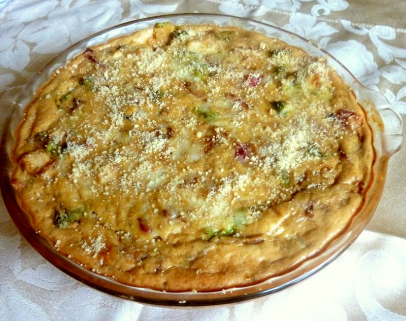 ... LOW-CARBING BY JENNIFER ELOFF: Chicken Bacon and Broccoli Quiche