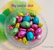 P.S. Best easter decoration is made of chocolate. my easter diet