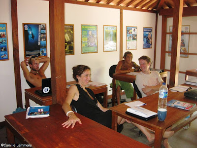PADI IDC Gili Air, Indonesia at Oceans 5 the orientation