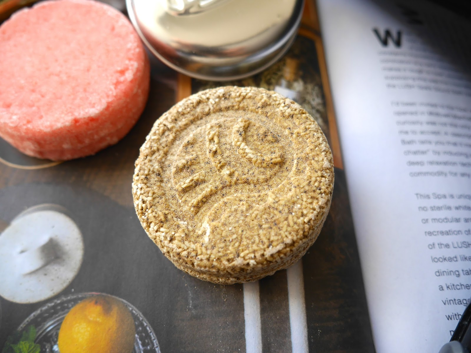 lush copperhead solid shampoo review