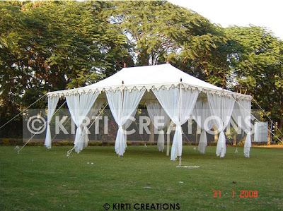 Traditional Raj Tent