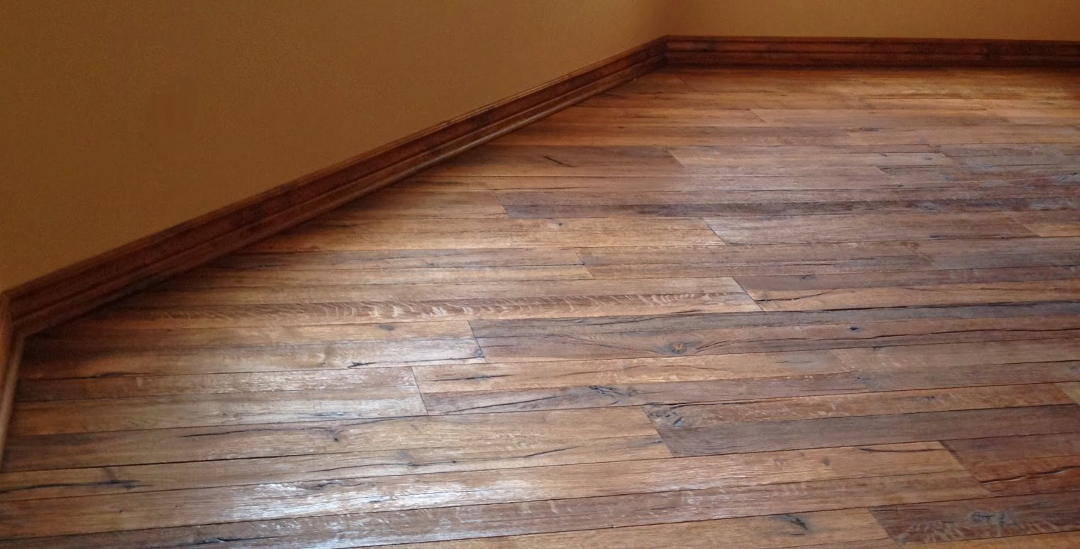 Toronto custom concepts blog reclaimed wood flooring toronto for Recycled hardwood floors