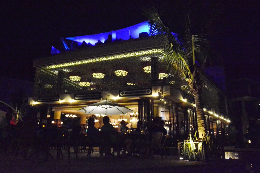 Belgian Beer Cafe Patong lights