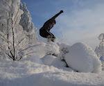 Lumikenkäillen tammikuussa 2010
