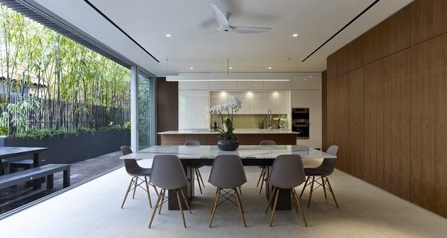 Ide untuk Desain Rumah Modern Di Tepi Pantai 2015 yg elegan