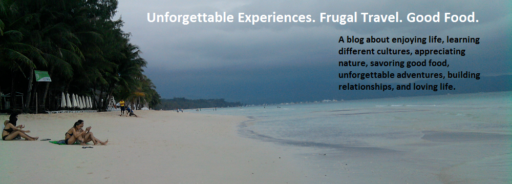 Unforgettable Experiences. Frugal Travel. Good Food. Adventure Trips.