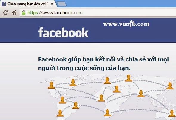 Cách vào Facebook bị chặn