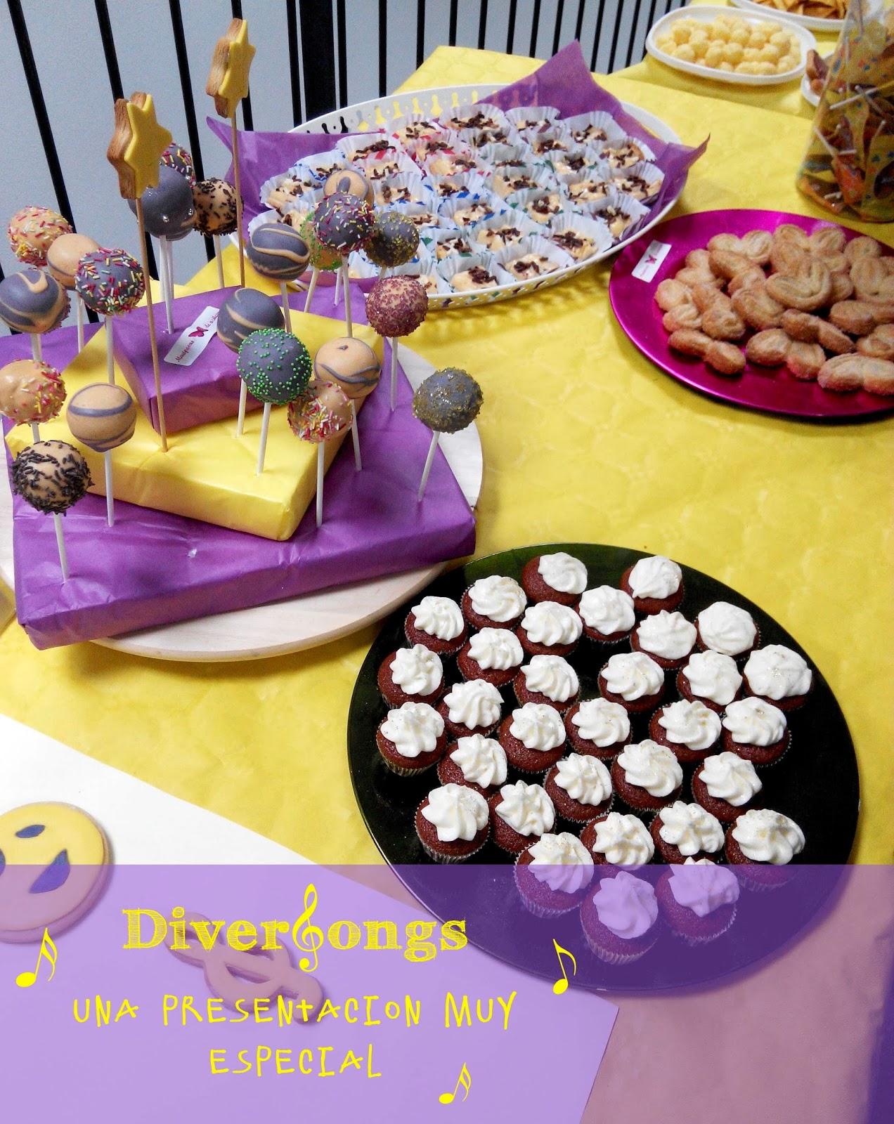 Diversongs, canciones divertidas en inglés para niños. Disfruta con Lentechuela y Cocorico. Dulces, cakepops, palmeritas, cupcakes, galletas by Mariposas de Azúcar