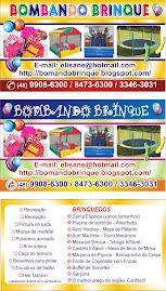Bombando Brinque Recreação Infantil e Locação de Brinquedos