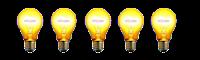 5 bulbs