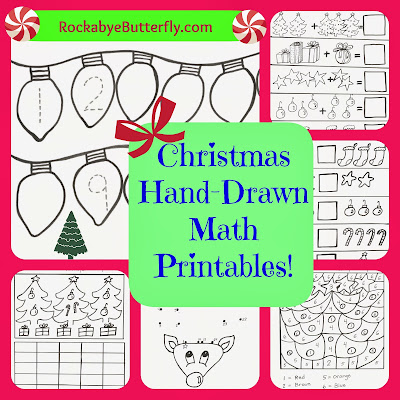 http://www.teacherspayteachers.com/Product/Christmas-Hand-Drawn-Math-Printables-1007156