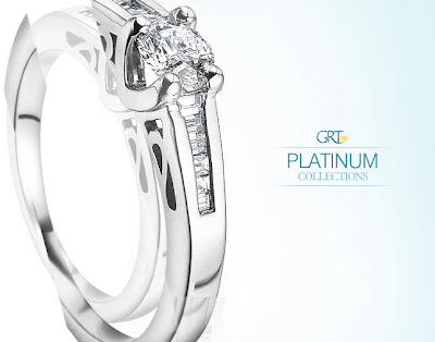 Platinum Jewellery Collections from GRT Jewellers