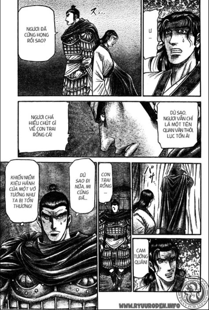 Chú Bé Rồng - Ryuuroden chap 209 - Trang 11