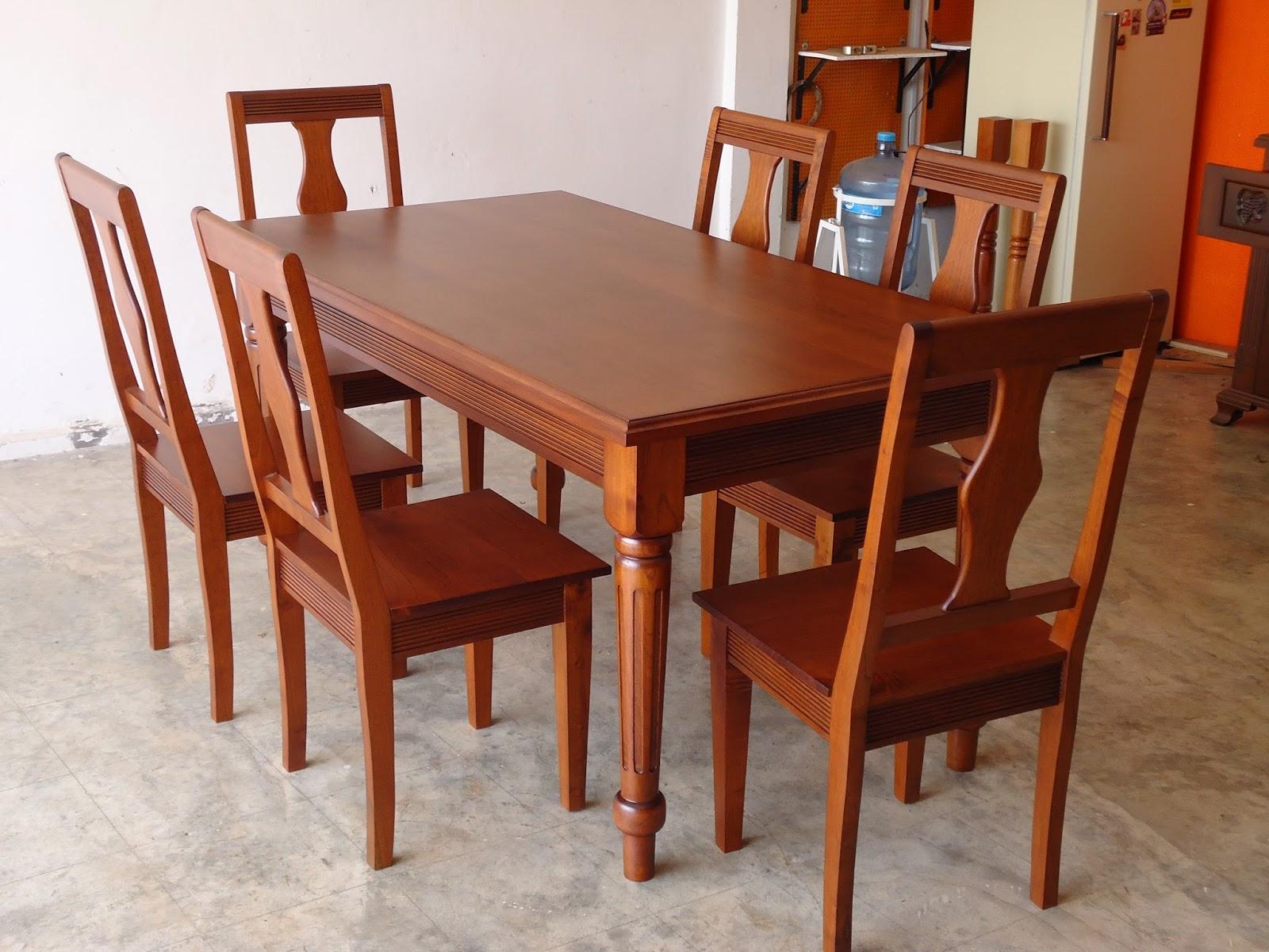 Muebles de madera for Modelos comedores