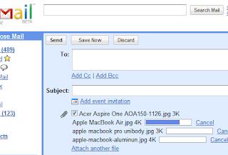 adjuntar archivo en gmail