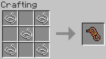 Mo' Creatures crafting cuerda Minecraft mod