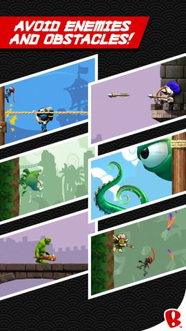 screenshot 4 NinJump Deluxe 1.0.5