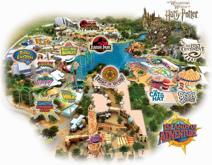 universal studios islands of adventure map pdf