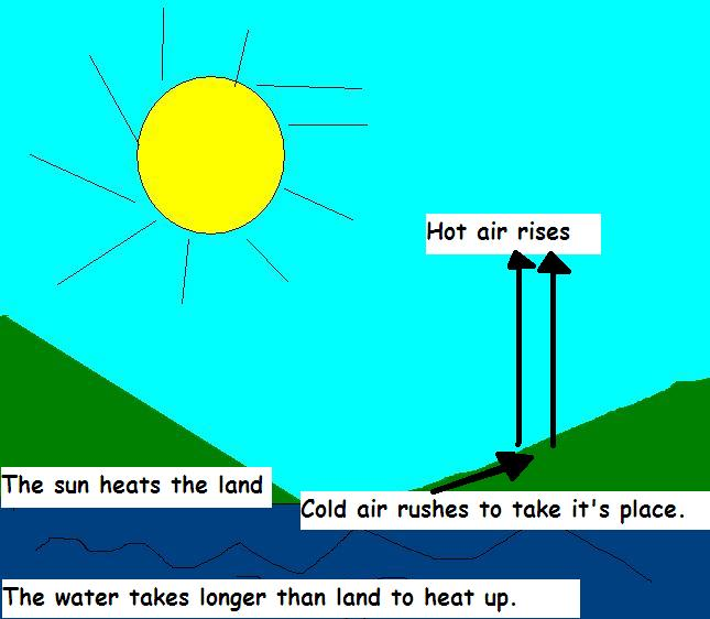 how is wind formed  What are winds? How are winds formed?