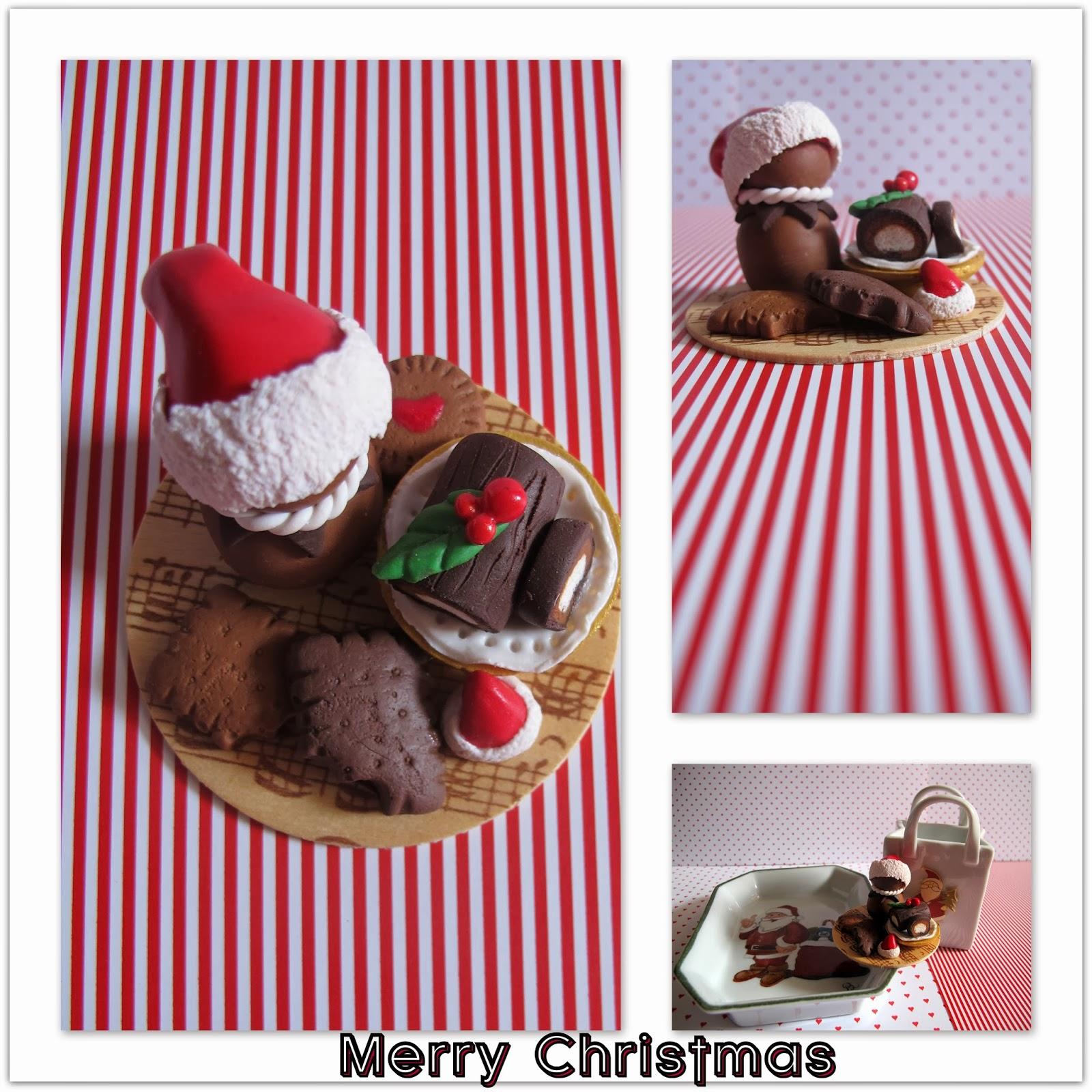 #AC1F2A MA PETITE PLANETE: Pâte Fimo : Décor De Table De Noël 6181 decoration de table de noel en pate fimo 1600x1600 px @ aertt.com