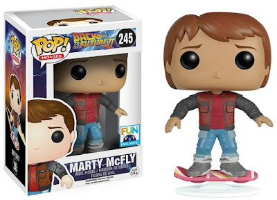 Fun.com Exclusive Back to the Future 2 Marty McFly on Hoverboard Pop! Vinyl Figure by Funko