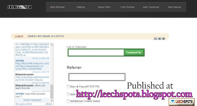 Rapidleech for Depositfile and Rapidgator