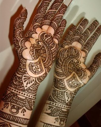 Mehndi For Front : Mehandi designs for front hands