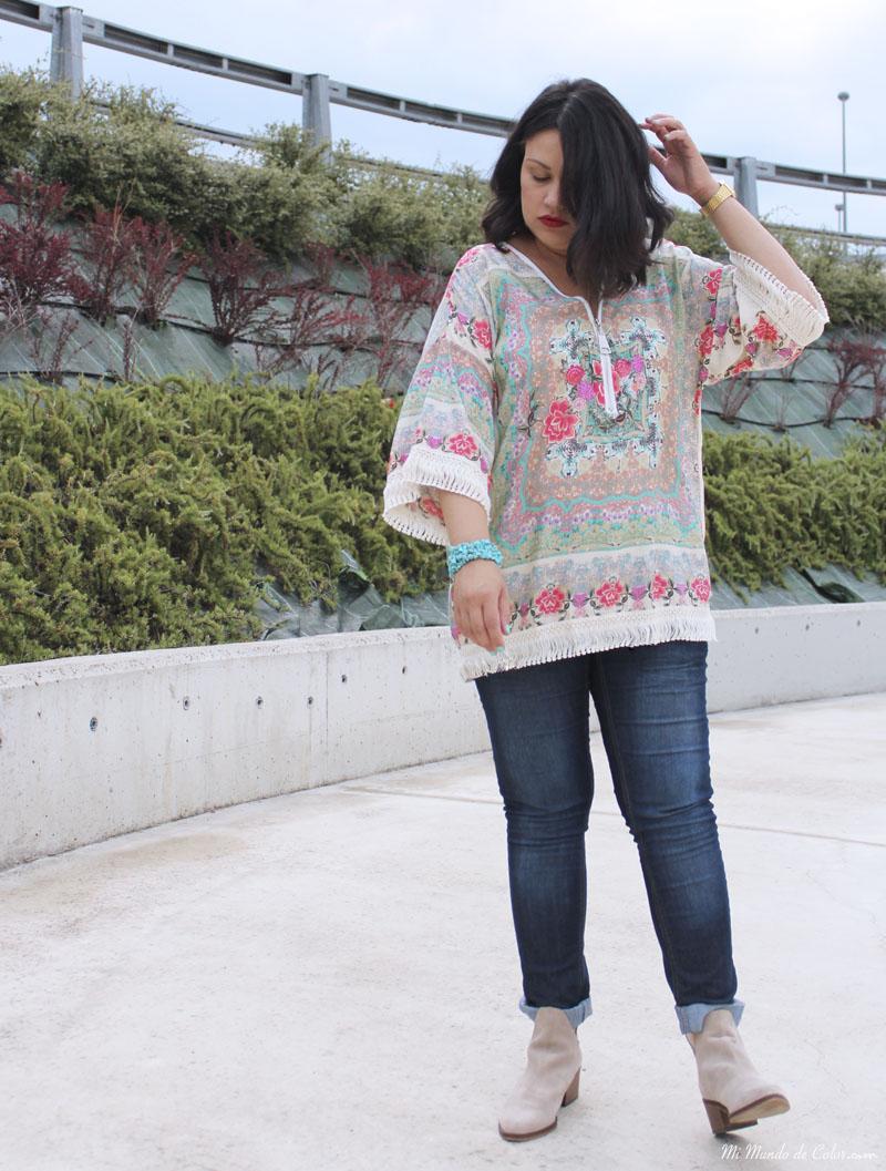 look blogger con kimono