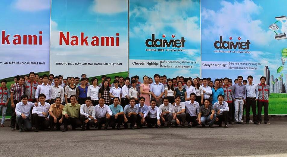 Công ty cổ phần cơ điện lạnh Đại Việt