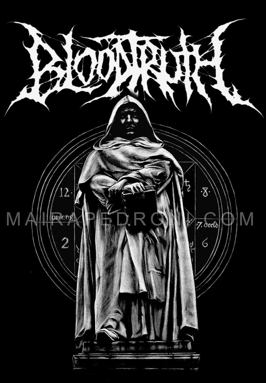 Design t shirt artwork - Tshirt Design For Bloodtruth Brutal Death Metal Artworks