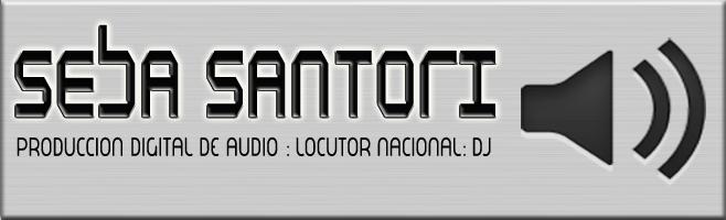 Sebastian Santori Locutor Nacional