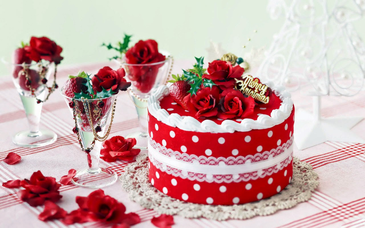 Unique Christmas Cake Decorating Ideas : Beautiful Christmas Cake Decoration Ideas - Unique Wallpaper