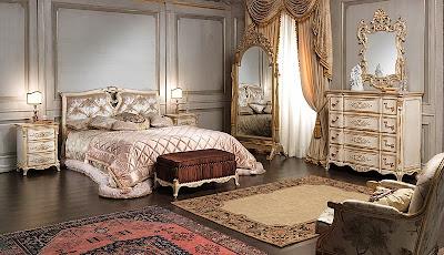 dormitorio barroco