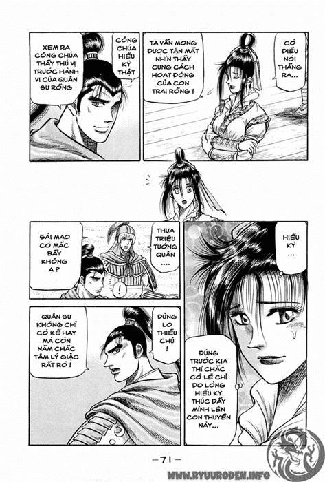 Chú bé rồng-Ryuuroden chap 37 Trang 18 - Mangak.info