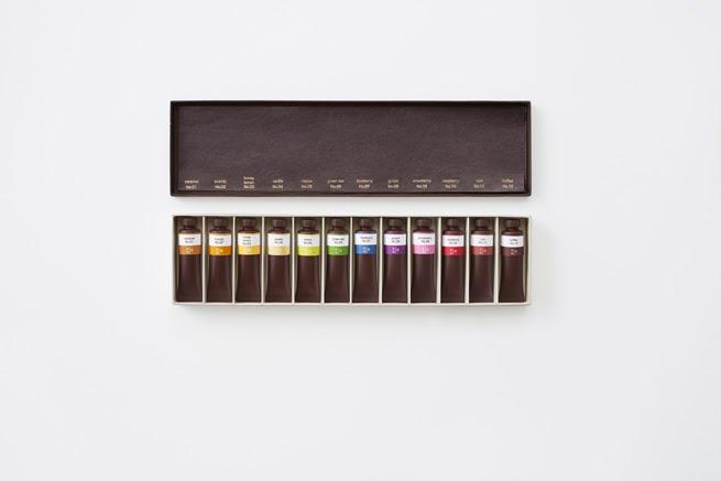 Tubos de pintura de chocolate - Chocolate-Paint