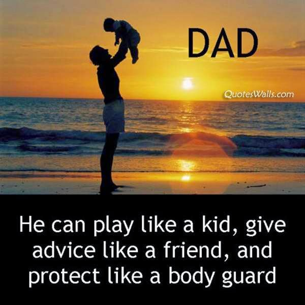 Happy Father's Day Quotes with Pictures for Whatsapp