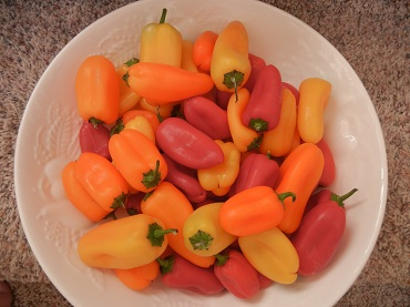 COLORFUL PEPPERS!