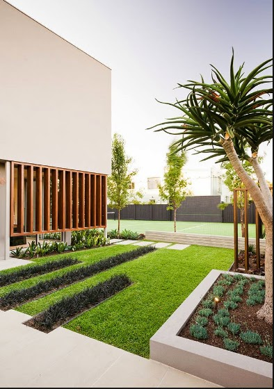 Casas minimalistas y modernas jardines minimalistas ii for Jardines minimalistas