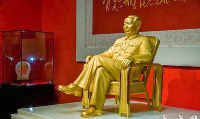 Patung Emas Mao Zedong