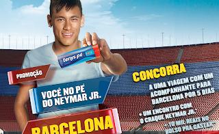 Promoção Você no Pé do Neymar em Barcelona