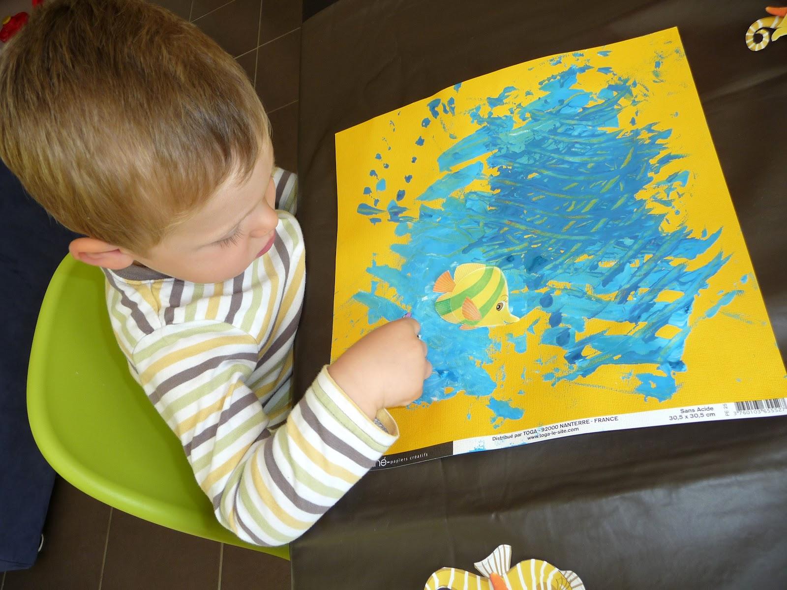 Chez fant mette ao t 2012 for Peinture a la spatule