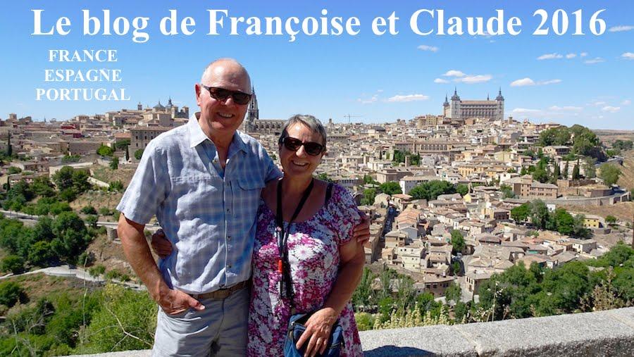 Le blog de Françoise et Claude 2016
