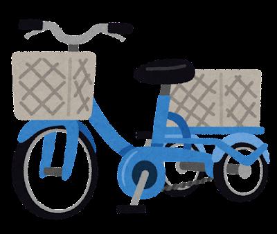 三輪の自転車のイラスト