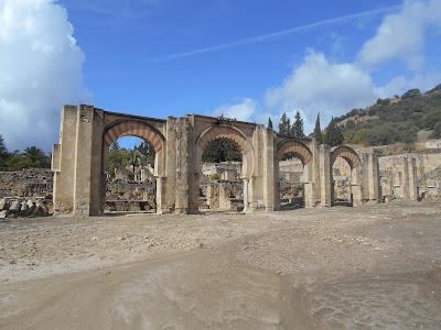 El Gran Pórtico, por dónde se accedía al núcleo del Alcázar