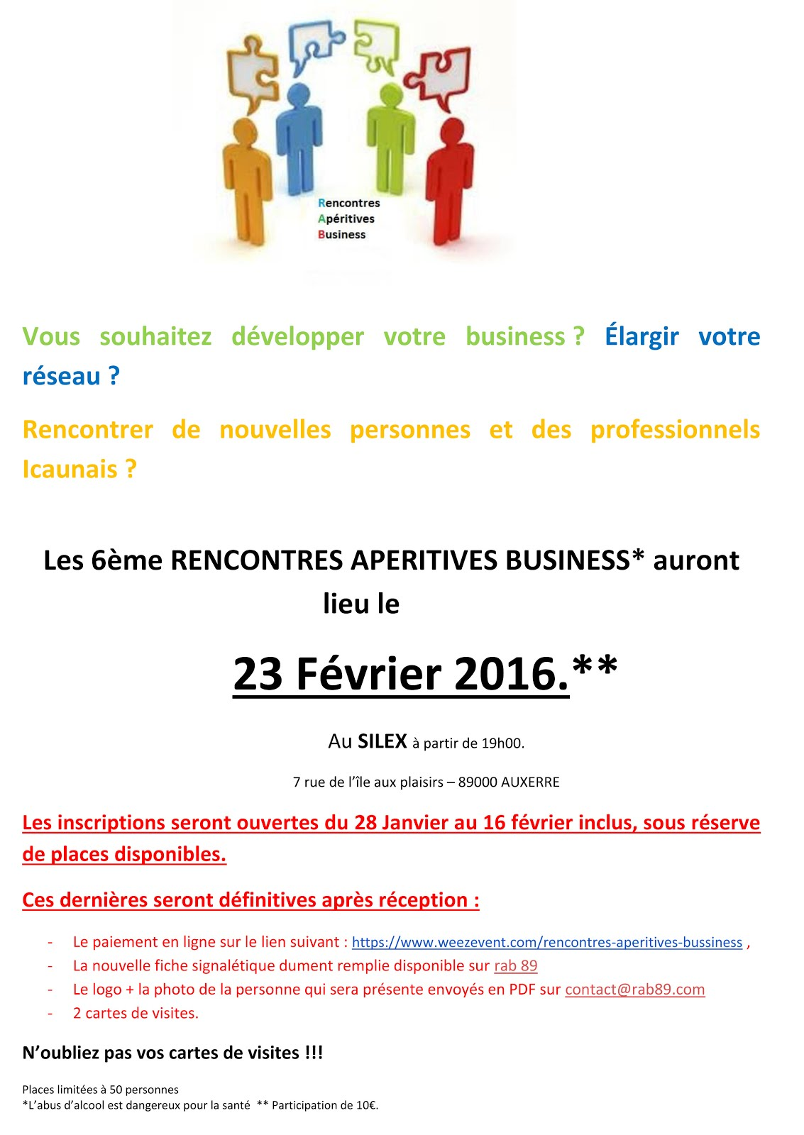 rencontres business Béziers