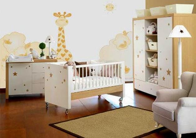 Colores habitación bebés decoración infantil