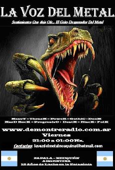 Programazo del metal  - Viernes 21:00 hrs  / sexta feira 21:00 hrs Por www.demontreradio.com.ar
