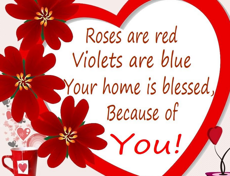 Cute Greetings On Valentines Day