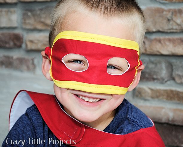 Kid's Mask Pattern and Tutorial